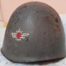 Militaria: CASCO ITALIANO MOD.33 AVIACION GUERRA CIVIL. Lote 227565920