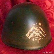 Militaria: CASCO ITALIANO M 33 DE LA 2 GUERRA MUNDIAL - GUARDIA NACIONAL RSI - WW2 ITALIAN ARMY HELMET MARCADO. Lote 228319050