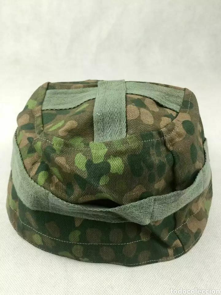 Militaria: Funda para casco paracaidista fallschirmjager Segunda Guerra Mundial - Foto 2 - 229450475