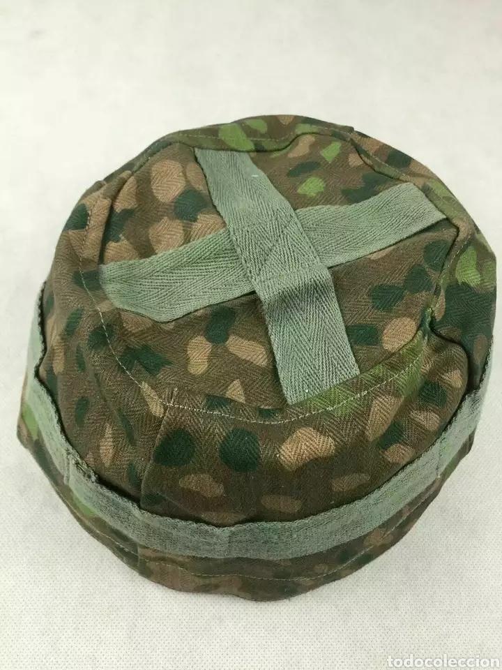 FUNDA PARA CASCO PARACAIDISTA FALLSCHIRMJAGER SEGUNDA GUERRA MUNDIAL (Militar - Cascos Militares )