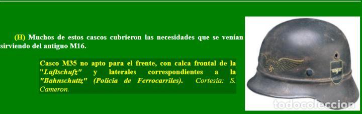 Militaria: CASCO ALEMÁN Mod.35 PARA LA CRUZ ROJA. (NO APTO PARA COMBATE). MUY RARO. - Foto 9 - 234477150