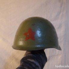 Militaria: ANTIGUO CASCO MILITAR RUSO COMUNISTA, ORIGINAL, URSS. II GUERRA MUNDIAL. Lote 235350245