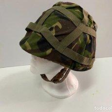 Militaria: CASCO MILITAR CON FUNDA. Lote 235455840