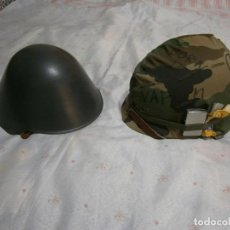 Militaria: LOTE CASCOS DE LA GUERRA FRIA + MURO DE BERLIN + VOPO RDA + M1 USA + MILITAR+ ENVIO INCLUIDO. Lote 235847820
