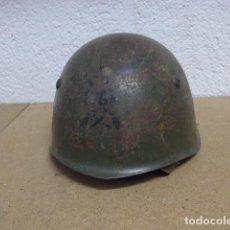 Militaria: RESERVADO ANTIGUO CASCO DEL 76 REGIMIENTO INFANTERIA ITALIANA, M-33, PINTADO.. Lote 236301175
