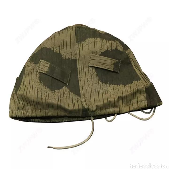 Militaria: Funda para casco alemán Segunda Guerra Mundial - Foto 3 - 236356960