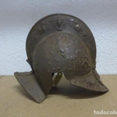 Militaria: ANTIGUO CASCO TODO TRABAJADO S.XIX TIPO TERCIOS ESPAÑOLES, MORRION, CONQUISTADOR ESPAÑOL, CAPACETE.. Lote 236656095
