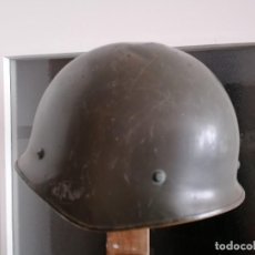 Militaria: CASCO MILITAR,USADO,1979 AÑO DE FABRICACIÓN, FRANCÉS.. Lote 238101605