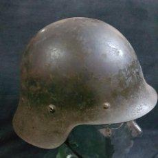 Militaria: CASCO TRUBIA GUERRA CIVIL PERFECTO. Lote 238305720