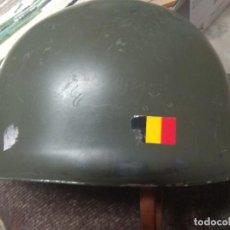 Militaria: CASCO MILITAR EJERCITO BELGA, BÉLGICA. Lote 239811875
