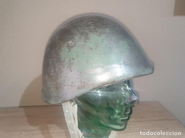 CASCO ITALIANO M33 GUERRA CIVIL (Militar - Cascos Militares )