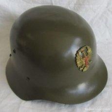 Militaria: CASCO DE GALA EN CARTÓN, PARA DESFILES, OFICIAL EJÉRCITO DE TIERRA, TALLA 58. Lote 244704605