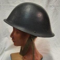 Militaria: CASCO INGLES BRITÁNICO M°MK-IV (CANADIENSE) 1944. Lote 247242165