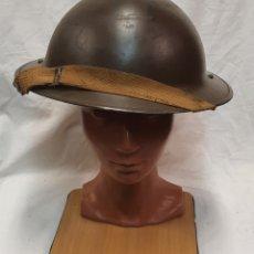 Militaria: CASCO MILITAR INGLES BRITÁNICO II GUERRA MUNDIAL MODELO MARK II 1939. Lote 247242650