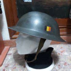 Militaria: CASCO BELGA MOD. MKII 1949. Lote 253537625