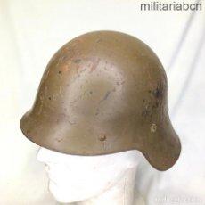 Militaria: ESPAÑA. CASCO M-26 CON ALA UTILIZADO EN LA GUERRA CIVIL ESPAÑOLA.. Lote 254195825