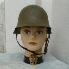 Militaria: CASCO TRUBIA MODELO 38 AZAÑA ( GUERRA CIVIL ) CON AGUILA. Lote 254409950