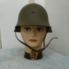 Militaria: CASCO TRUBIA MODELO 38 AZAÑA ( GUERRA CIVIL ) CON AGUILA. Lote 254873535