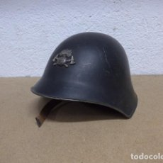 Militaria: ANTIGUO CASCO SUIZO DE BOMBEROS, ORIGINAL, SUIZA.. Lote 255633670