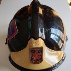 Militaria: CASCO DE BOMBEROS MODELO MSA-GALLET F1 SF. Lote 260560390
