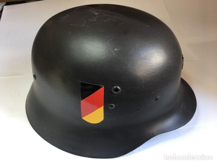 Militaria: CASCO MILITAR CON INSIGNIAS ALEMANAS III REICH - Foto 2 - 261120150
