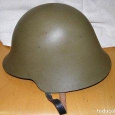 Militaria: CASCO TRUBIA, MODELO AZAÑA. MODELO AÑO 1938 O GUERRA CIVIL ESPAÑOLA.. Lote 262117840