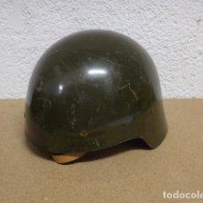 Militaria: ANTIGUO CASCO M-21 SIN ALAS DE GUERRA CIVIL, REUTILIZADO POR EJERCITO DE FRANCO. ORIGINAL.. Lote 262586230