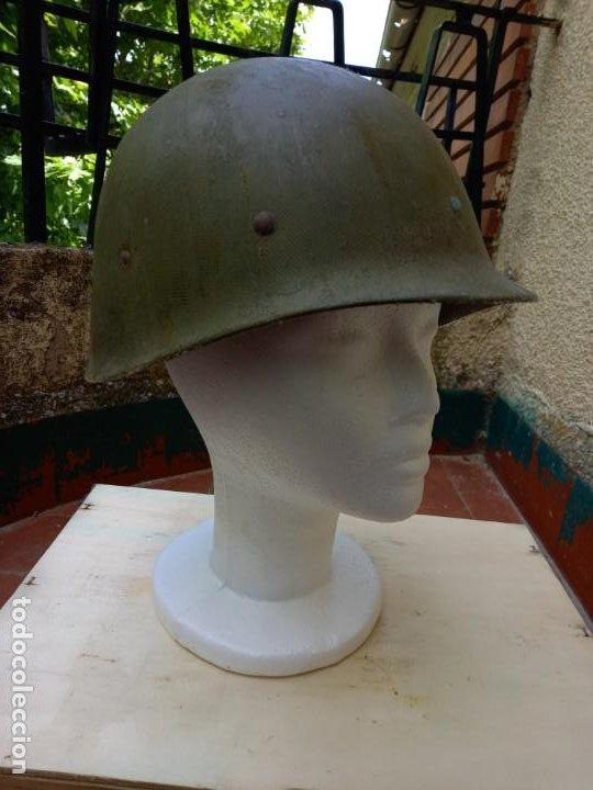 SOTOCASCO ORIGINAL AMERICANO. 2° GUERRA MUNDIAL. (Militar - Cascos Militares )