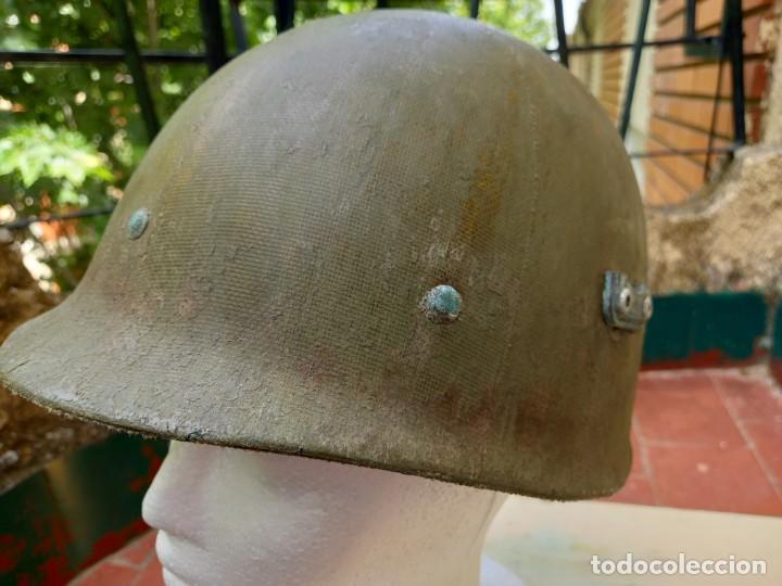 Militaria: Sotocasco original americano. 2° Guerra Mundial. - Foto 2 - 264540639