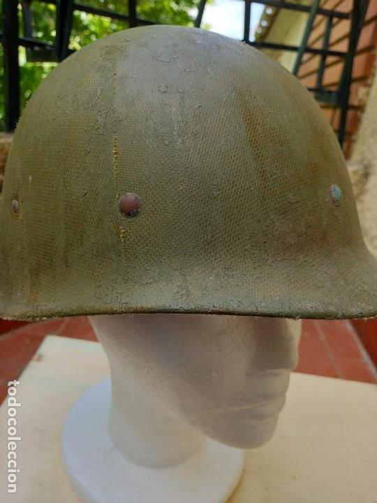 Militaria: Sotocasco original americano. 2° Guerra Mundial. - Foto 5 - 264540639