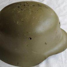 Militaria: CASCO MILITAR ESPAÑOL TRUBIA Z42 ? SIMILAR AL ALEMAN M39. Lote 260600865