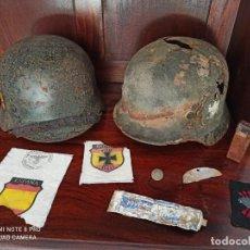 Militaria: LOTE CASCOS DIVISIÓN AZUL. Lote 268896964