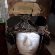 Militaria: CASCO PARACAIDISTA WW2 USA 101 DV. (PELICULA SALVAR AL SOLDADO RYAN NO REPLICA). Lote 268924989
