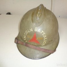 Militaria: CASCO GUERRA CIVIL BRIGADAS INTERNACIONALES. Lote 268927344