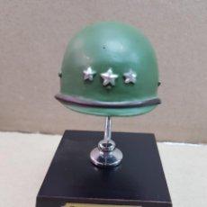Militaria: MINIATURA COLECCION CASCO MILITAR GENERAL PATTON 2 GUERRA MUNDIAL. Lote 273404873