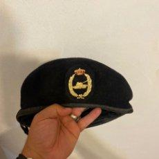 Militaria: BOINA DEL EJERCITO ESPAÑOL,CABALLERIA,CARROS DE COMBATE, TANQUISTA,ESCUDO CON TANQUE Y CORONA REAL,. Lote 276221748