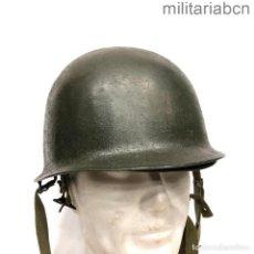 Militaria: ESTADOS UNIDOS. CASCO M1 MODELO 1943 CON INTERIOR PARACAIDISTA MODELO 1963. 2ª GM Y GUERRA VIETNAM.. Lote 296577153
