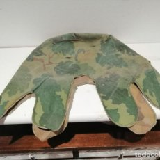 Militaria: FUNDA CAMUFLAJE REVERSIBLE PARA CASCO M1 US 1969 ORIGINAL GUERRA DEL VIETNAM. Lote 296820223