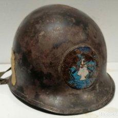 Militaria: CASCO AMERICANO US M1 MOVILE RIVERINE FORCE ORIGINAL GUERRA DEL VIETNAM. Lote 296820753