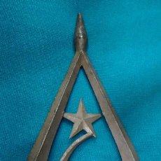 Militaria: UNION SOVIETICA URSS PUNTA DE BANDERA O MOHARRA. 2ª GUERRA MUNDIAL. 27 CM DE ALTO.. Lote 7074302