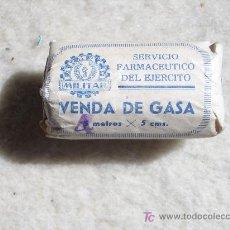 Militaria: VENDA DE GASA AÑO 1959. SERVICIO FARMACEUTICO DEL EJERCITO.. Lote 22875788