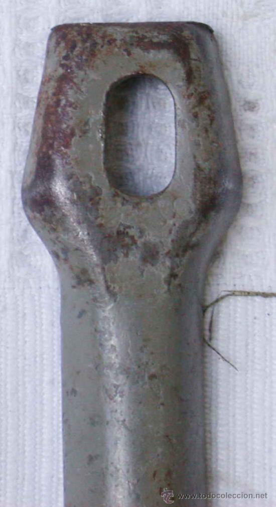 Militaria: Piqueta de hierro para poncho y tienda de campaña, original alemán 2 GM - Foto 3 - 9202455