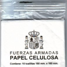 Militaria: PAPEL CELULOSA - FUERZAS ARMADAS. Lote 11967539