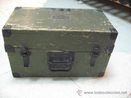 Militaria: Pieza única en el mercado visor para cañon 40/70 Bimador - Fabricado por ENOSA caja madera original - Foto 3 - 27577233