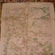 Militaria: II GUERRA MUNDIAL MAPA ALEMAN HOLANDA 1941 100% ORIGINAL. Lote 53615246