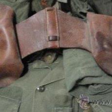 Militaria: PAREJA DE PISTOLERAS DE CABALLERÍA. Lote 23799018