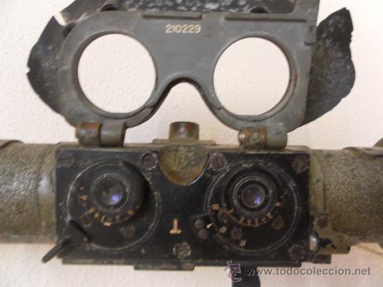Militaria: Telémetro alemán. 2ª Guerra Mundial. - Foto 6 - 34527720