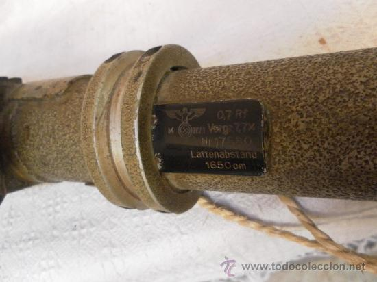 Militaria: Telémetro alemán. 2ª Guerra Mundial. - Foto 15 - 34527720