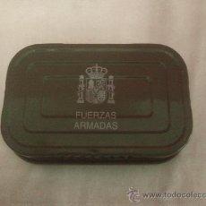 Militaria: LATA DE RACION INDIVIDUAL DE EMERGENCIA DE COMBATE DE LAS FUERZAS ARMADAS. Lote 35876884