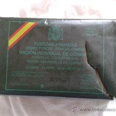 RACION DE COMBATE-EJERCITO ESPAÑOL